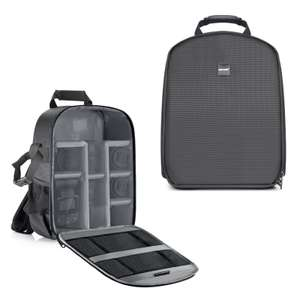 Neewer Shockproof Partition Camera Bag / backpack  27x15x35cm  £9.66 Delivered For Both Prime & Non Prime - Sold by GrandTrading / Amazon