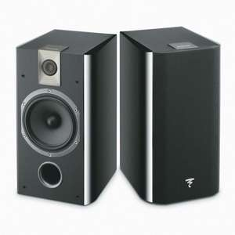 Focal Chorus 706 Black 2-Way Bass Reflex Bookshelf Speaker (Pair) Black - £299.50 @ Audio Visual Online