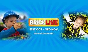 BrickLive 2019 Family ticket for £32 @ Groupon