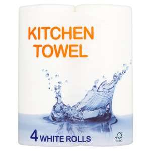 Breeze 4 pack kitchen towel for £1 at Iceland