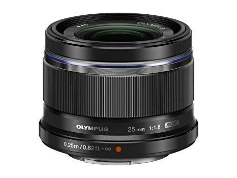 Olympus 25mm F1.8 lens £209.49 @ Amazon France (Apply Voucher)