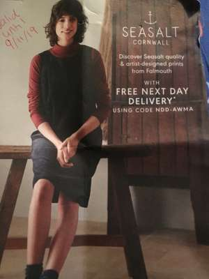 Free Next Day Delivery (Multiple use!) - Seasalt Cornwall