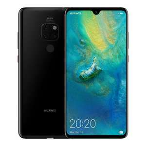 Huawei Mate 20 Black 128GB - £294.94 with code @ LaptopOutletDirect / eBay