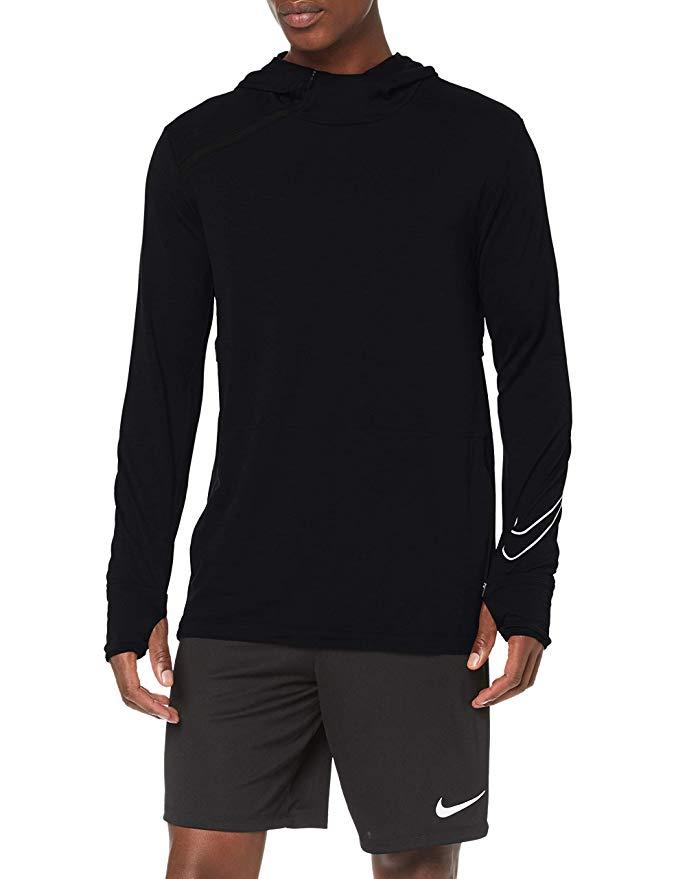 Nike SPHERE HOODIE Men's Sweatshirt Black / Reflective Silver from £24.88 @ Amazon UK