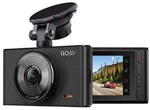 """Anker Roav DashCam C2/FHD1080P/3""""/LCD/4-Lane Wide-Angle/G-Sensor/WDR/Loop Recording/Night Mode, 2-Port for £34.99- Sold by Ankerdirect & FBA"""