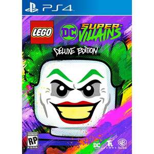 Lego dc villains deluxe edition ps4/xbox one £19.99 @ Game instore (Dundee)