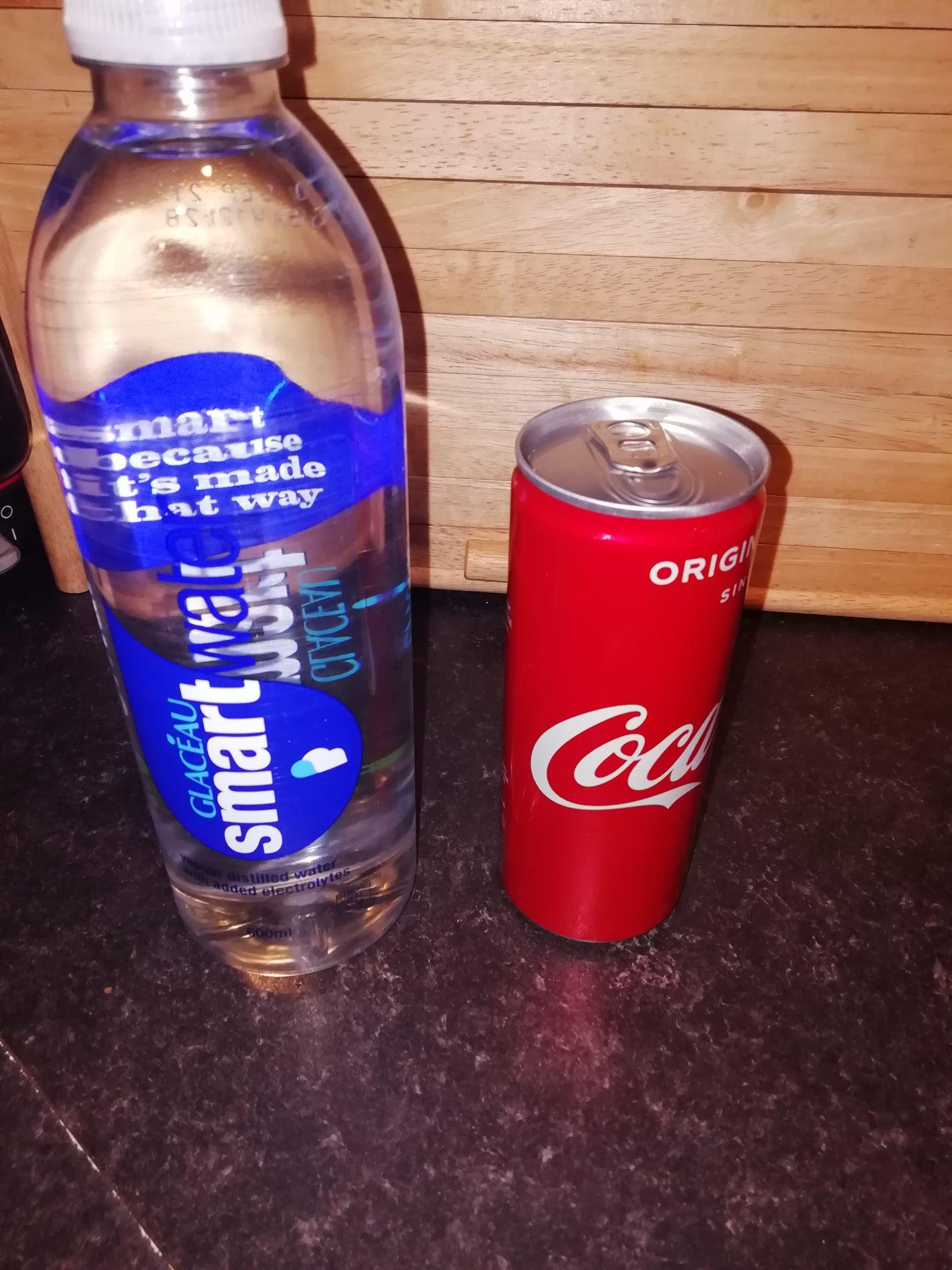 Lots of single drinks reduced Tesco Huddersfield