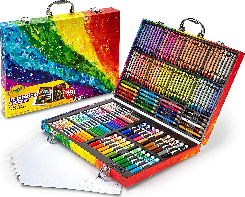 Crayola Inspiration Art Case -140 pieces-Assortment £20 @ Amazon