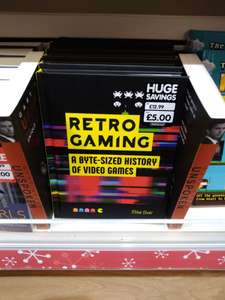 Retro Gaming: A Byte-Sized History Of Video Games hardback book - £5 at The Works