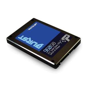 "Patriot Burst 960GB 2.5"" SATA III SSD Up to 560MB/s Read, 540MB/s (3 Year Warranty Write) for £82.86 Delivered @ CCLONLINE"