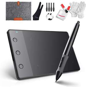 Huion H420 USB Graphics Drawing Tablet Board Kit £26.99 Sold by Lightwish-EU and Fulfilled by Amazon.