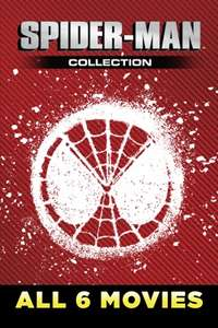 Spider-Man 6 Film Collection 4K Dolby Vision and Dolby Atmos £22.99 @ iTunes