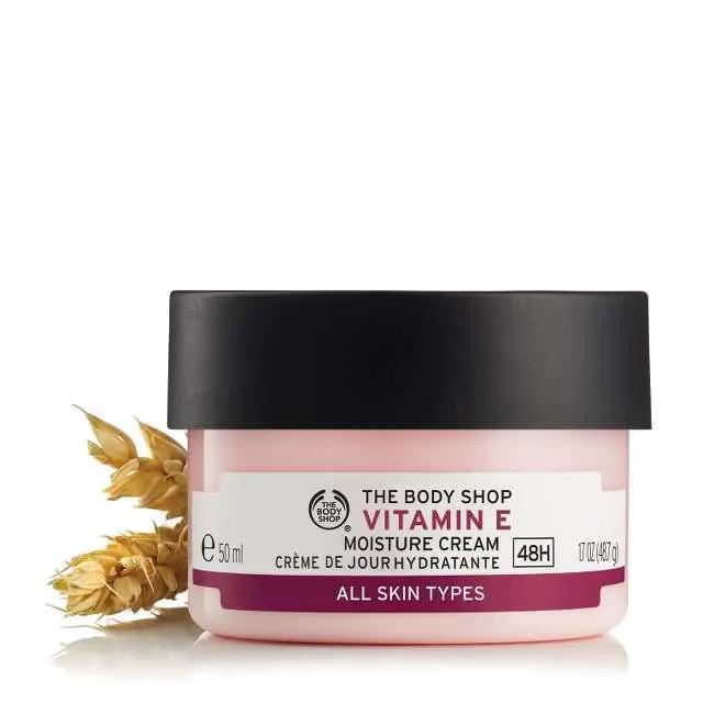 25% off at The Body Shop (min spend £20) + FREE 50ml Vit E Cream