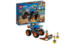 LEGO City Vehicles Monster Truck Toy £7.65 with code @ Argos (Free Click & Collect)