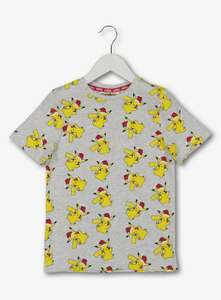 Christmas Pokemon Pikachu Grey & Yellow T-Shirt 3YRS (other sizes available) - £5.62 @ Argos (Free Collect)
