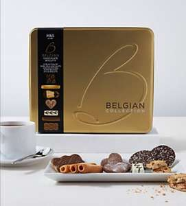 M&S 1kg biscuit tin £10 @ Marks and Spencer