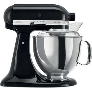 KitchenAid 5KSM175PSBOB 4.8 Litre Stand Mixer with 300W and 10 Speeds in Black - £350 (With Code) @ eBay / Hughes