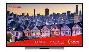 Toshiba 43 Inch 43UL5A63DBS Smart 4K Alexa TV with HDR - £299 @ Argos (Free Collect)