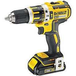 DeWalt 18V XR Brushless Compact Combi Drill with Battery & Case DCD795S1 - £83.99 @ City Plumbing