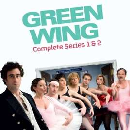 Green Wing, The Complete Collection £4.99 on iTunes
