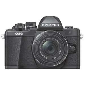 Olympus OM-D E-M10 Mark II Compact System Camera in Black with 14-42mm Lens £329.00 @ Jessops