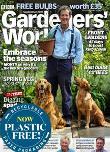 Gardeners World Magazine 5 issues for £5 @ Buy Subscriptions
