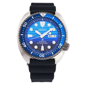 Seiko Bargains at Ernest Jones - ie Seiko Save The Ocean Turtle - £269. 10(With Code)