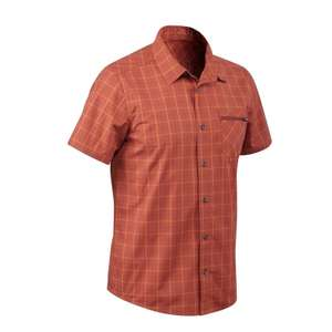 QUECHUA  Men's Travel trekking shirt - small size only - £1.99 was £7.99 @ Decathlon (Free Collection)