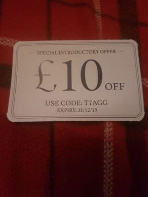 Charles Tyrwhitt £10 off on full price items. Special introductory offer.