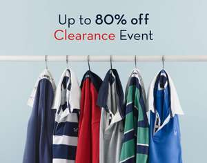 Crew Clothing - Up To 80% Off Clearance Events - 2 November Event Locations & Dates In Post