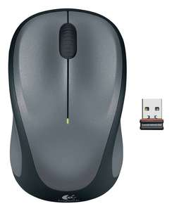 Logitech M235 Wireless Mouse - Black and Grey - Manufacturer's 3 year guarantee / Battery included £9.99 @ Argos (Free Click & Collect)
