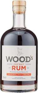 Woods Old Navy Rum, 70 cl delivered with Amazon Prime for £19.95 delivered (+£4.49 non-Prime)