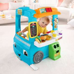 Fisher-Price Laugh & Learn Servin' Up Fun Food Truck - £54.99 @ Smyths
