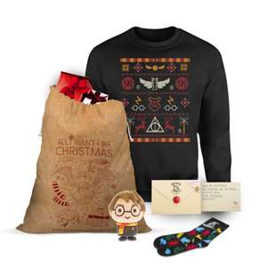 Harry Potter Officially Licensed MEGA Christmas Gift Set (Pre-Order) - £29.99 @ ZAVVI