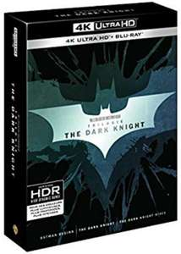 The Dark Knight - The 4K Trilogy [4K Ultra HD £29.94 @ Amazon France