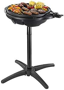 George Foreman 22460 Indoor and Outdoor Grill, Plastic, 2400 W, Black - £69 @ Amazon