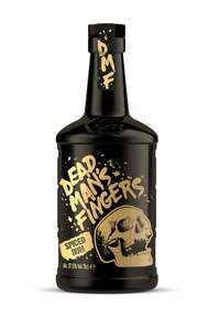 Dead Man's Fingers Spiced Rum 37.5% 70cl 2 for £30 with code @ Thedropstore