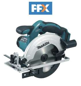 Makita DSS611Z 18v 165mm LXT Li-ion Circular Saw Naked - Body Only £66.67 with code @ FFX Ebay