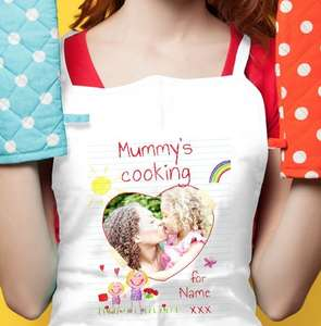 20% off on personalized aprons at funky pigeon