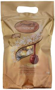 1 KG Lindt Lindor Assorted Milk Chocolate, White Chocolate, Dark Chocolate and Milk Hazelnut Chocolate Truffles 80 Truffles £16.49 @ Amazon