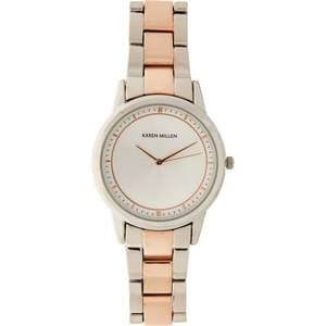 Karen Millen Rose Gold & Silver Belt Watch £21.98 Click & Collect @ TK Maxx
