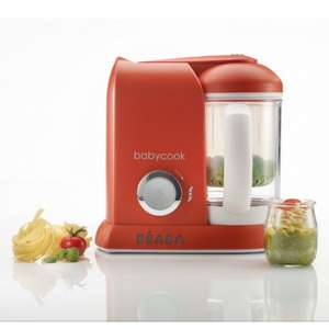 Beaba Babycook Solo 4-in-1 Baby Food Maker & Food Processor - Red - £58.95 (With Code) @ Online4Baby