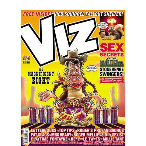 3 Issues of Viz for £1 + Free Mug