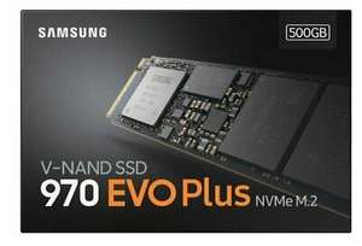 Samsung 970 EVO Plus V-NAND M.2 500GB SSD - £90.04 @ Ebay / Ebuyer (With Code)