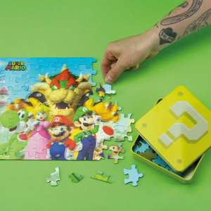 Official Super Mario 3D Jigsaw Puzzle & Collectable Embossed Tin £3.99 delivered @ onbuy / Paladone