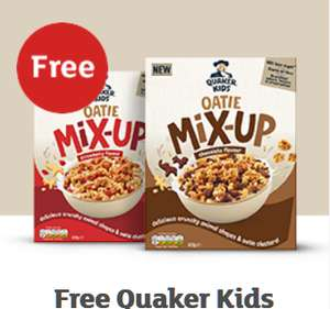 Free Quaker Kids Oatie Mix Up / Free Off the Eaten Path Chickpea with code(s) @ Sainsburys