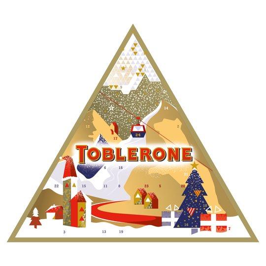 Toblerone Advent Calendar 200G @ Tesco - £8
