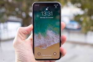 Apple iPhone X 64GB Good Condition Space Grey Unlocked £440.99 at Music Magpie