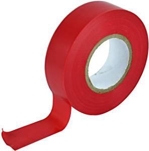 Faithfull 2702 Pvc Insulation Tape 19Mm X 20M - Red £0.81 at Amazon (+£4.49 non prime)