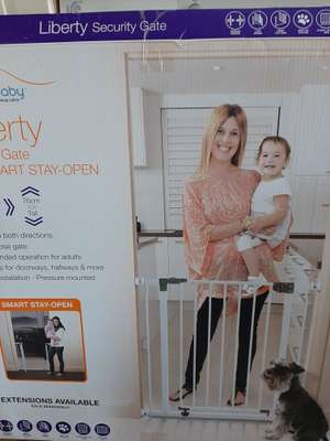 Dreambaby Liberty Safety Baby Gate £9 @ Asda Tunstall